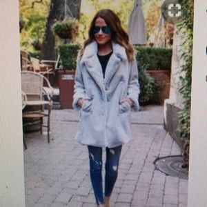 Other - Pocketed faux fur coat